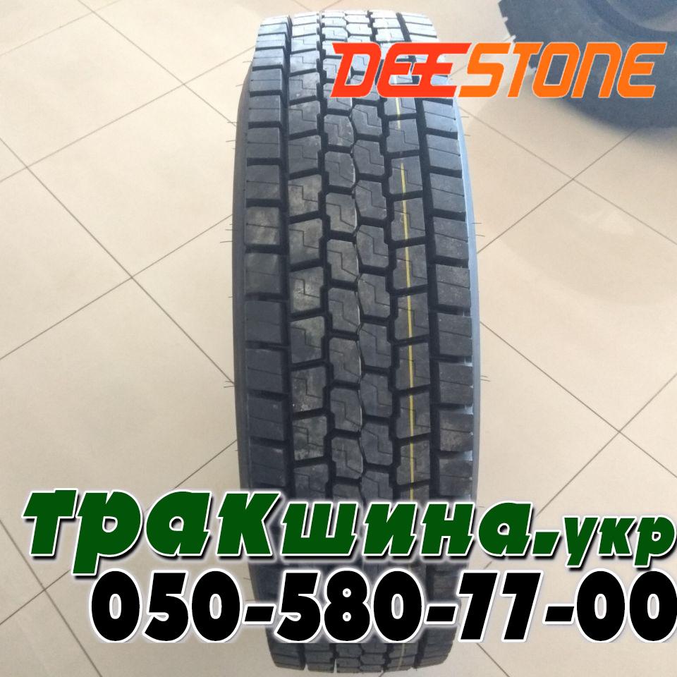 Рисунок протектора шины Deestone SS431 315/80 R22.5
