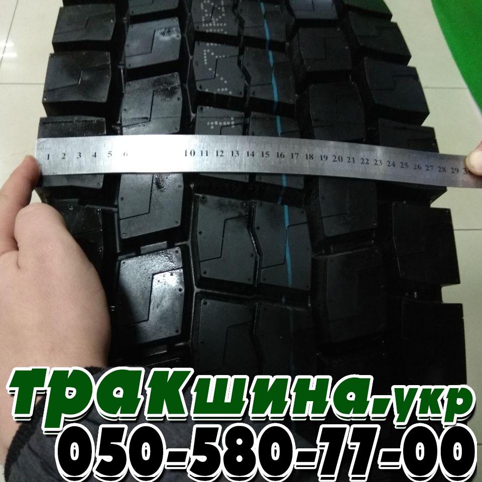 Ширина протектора грузовой шины 315/70 R22.5 Sailun S702