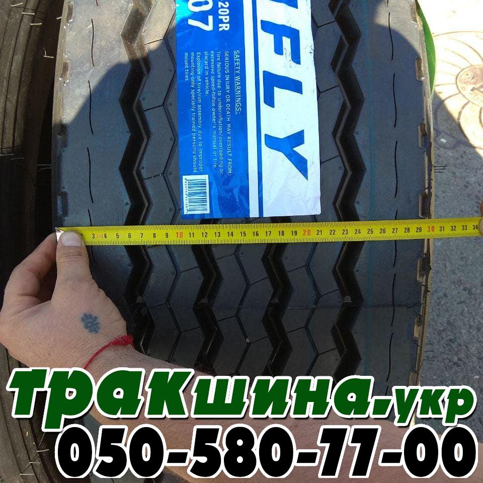 Ширина протектора грузовой шины 385/65 R22.5 hifly hh107
