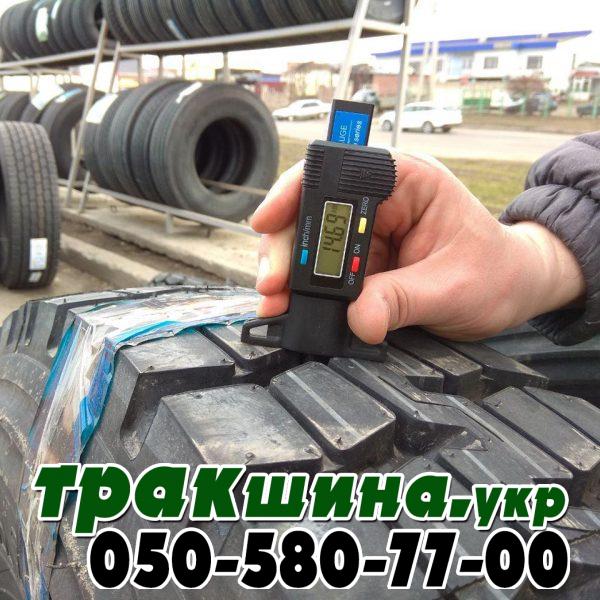 Глубина протектора шины 260 508 Triangle TR690 9.00 R20 144/142K 16PR ведущая