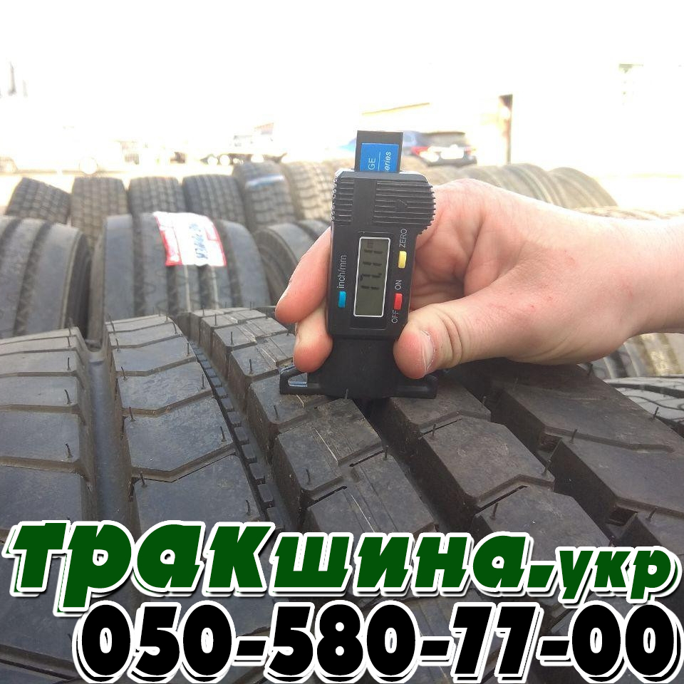 Глубина протектора шины Bridgestone R297 315/80r22.5