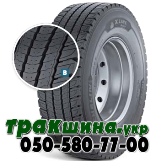 315/70 R22.5 Michelin X Line Energy D2 154/150L ведущая  Изображение шины