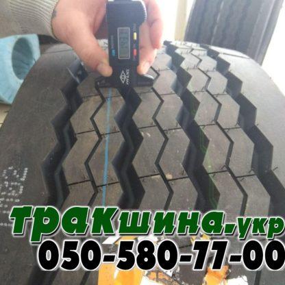 Фото глубины протектора шины Aplus T706 385/65 R22.5