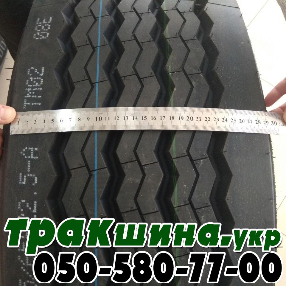 Фото ширины протектора шины Aplus T706 385/65 R22.5