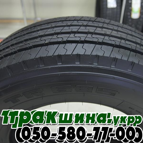 Фото боковины протектора грузовой шины Triangle RT685