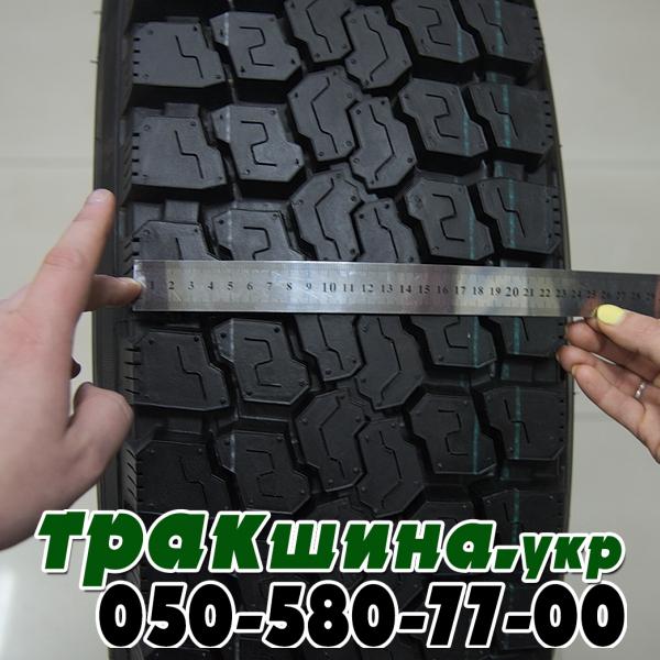 Фото ширины протектора шины Triangle TR688 315/80r22.5