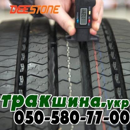 Фото глубины протектора протектора грузовой шины Deestone SV403