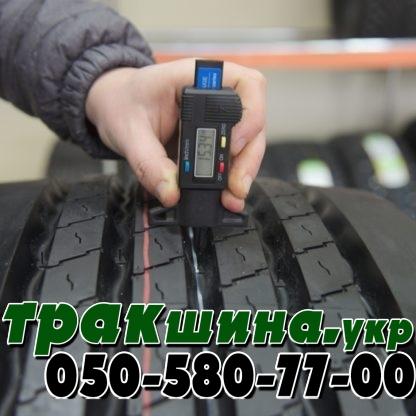 Фото глубины протектора шины Deestone-sw413 385/65 r22.5