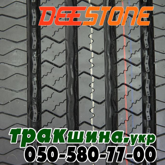Рисунок протектора шины Deestone SV403 295/80 R22.5