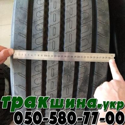 На фото показана ширина протектора шины matador f hr4 в размере 385/65