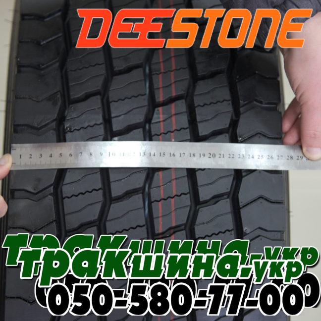 Фото ширины шины Deestone SS433