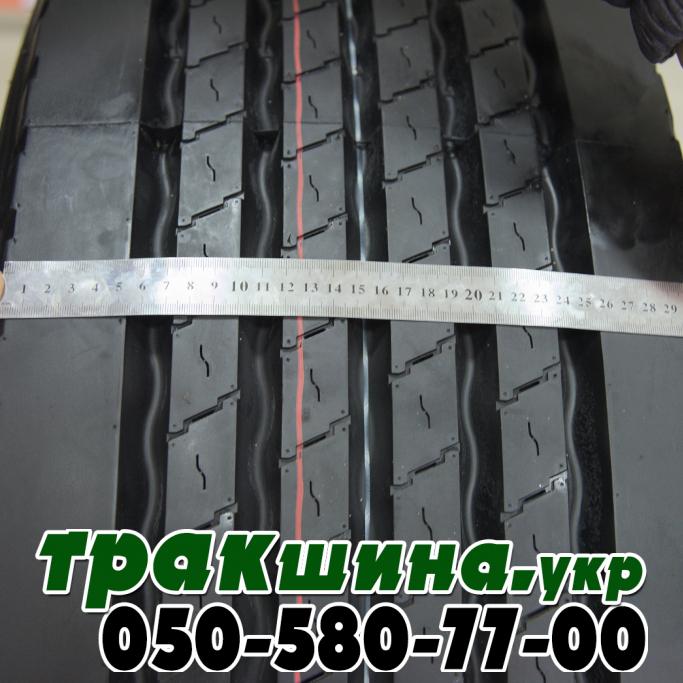 Ширина протектора шины Deestone SW413 385/65R22.5 164K (5000 кг, усиленная) 20PR