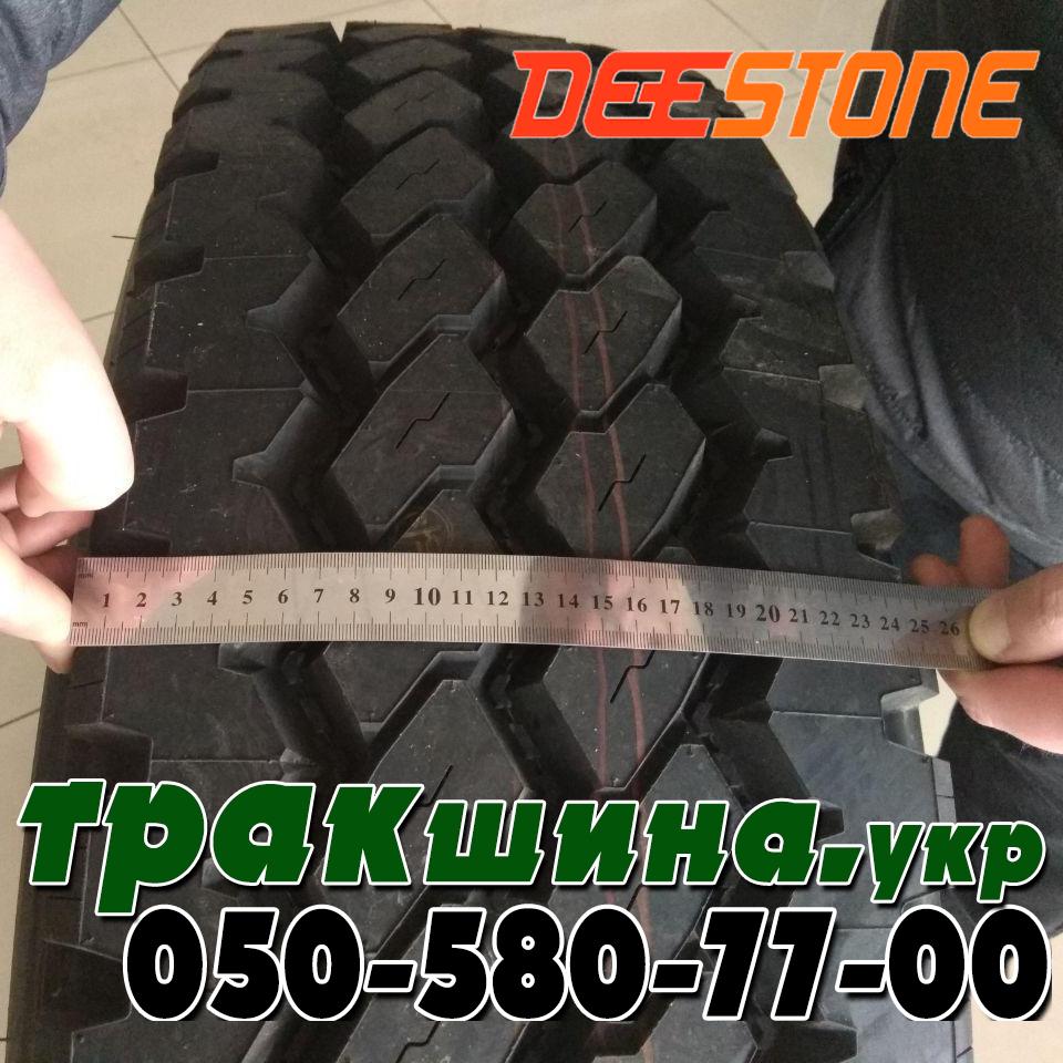 Ширина протектора грузовой шины Deestone SK421 315/80r22.5