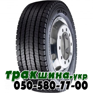 Фото шины Bridgestone M749 295/80 R22.5 152/148M ведущая