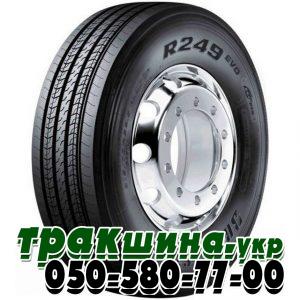 Фото шины Bridgestone R249 Evo Ecopia 315/70 R22.5 156/150L рулевая