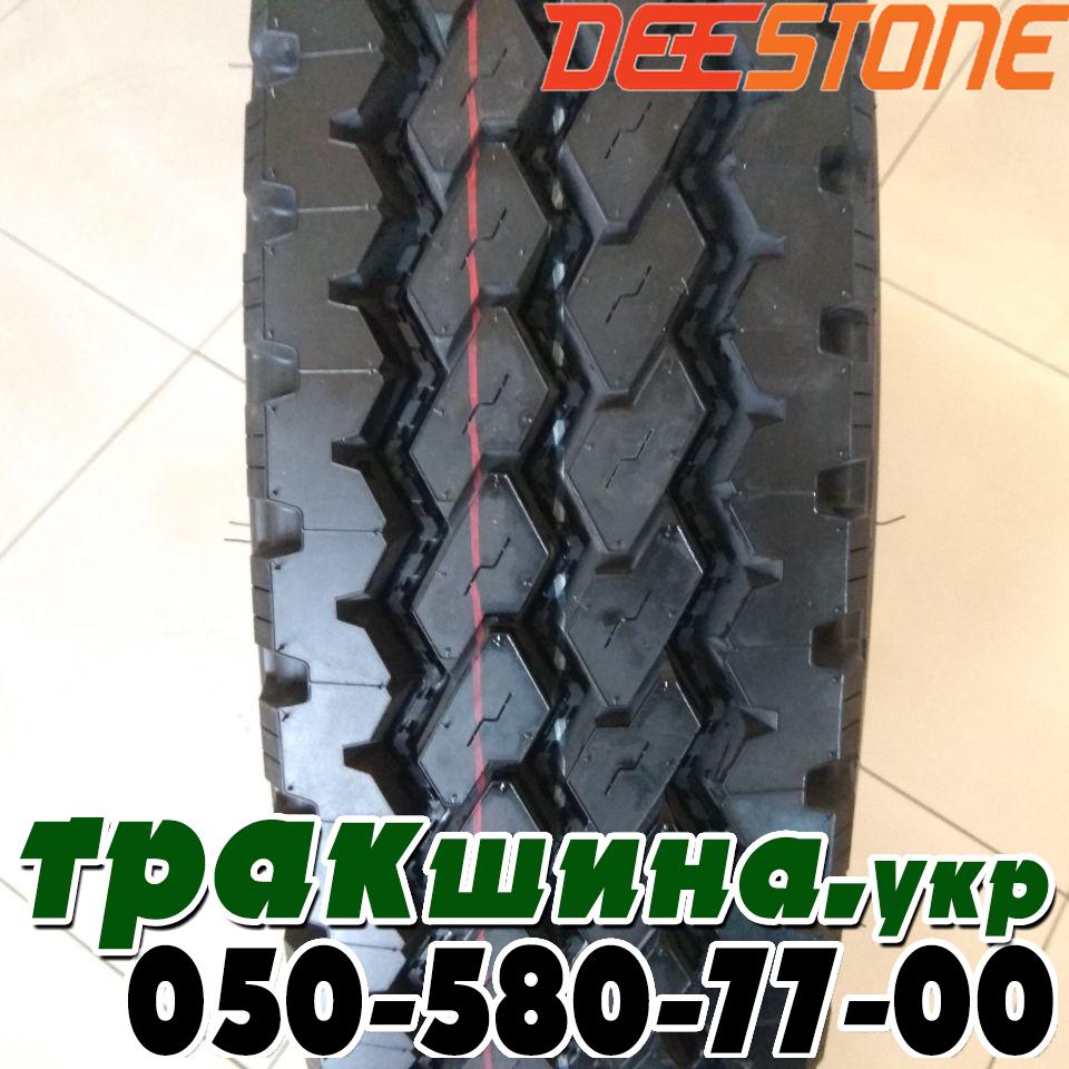 Рисунок протектора шины 9.00 R20 Deestone SK421