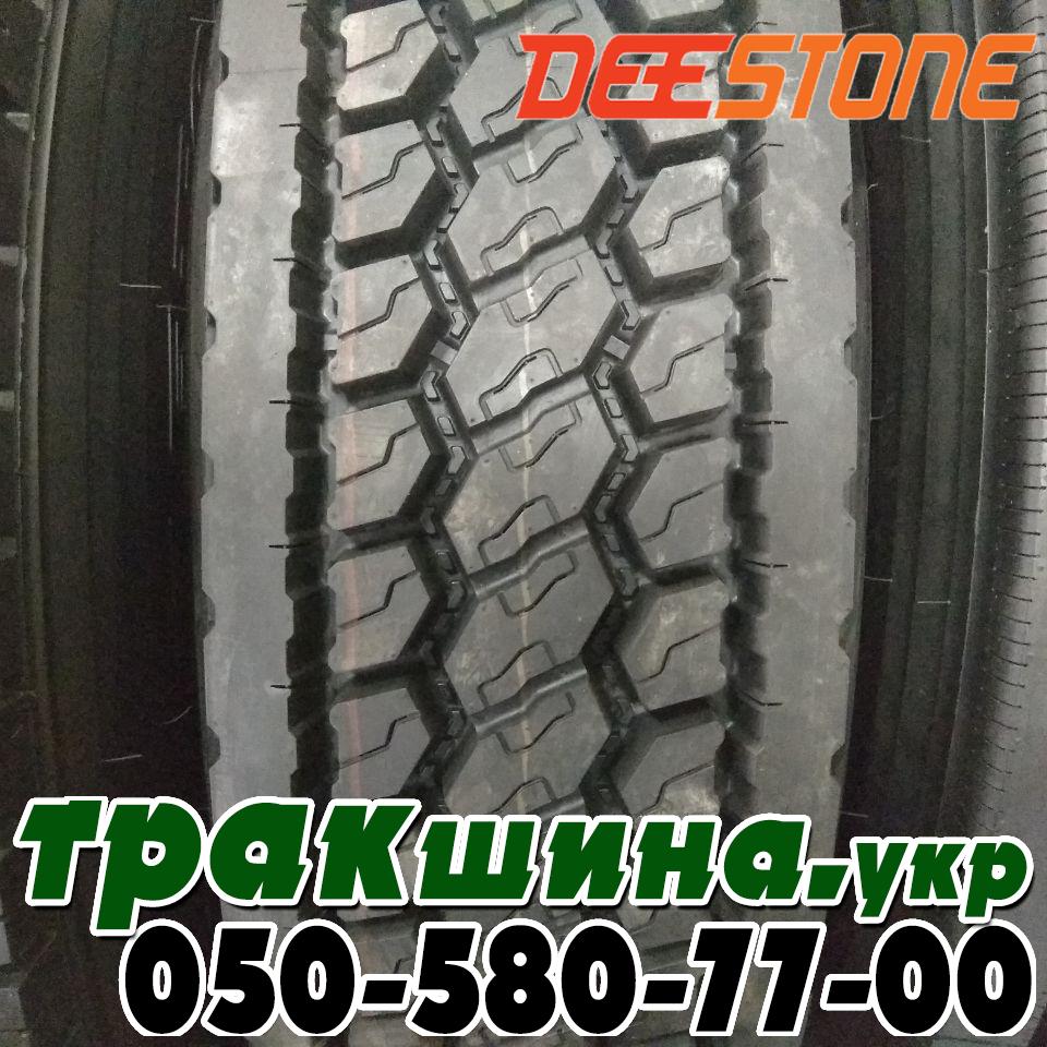 Рисунок протектора шины 295/75 R22.5 Deestone SK422