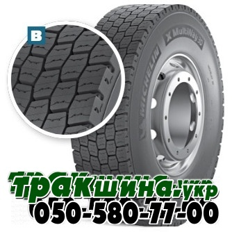 315/70 R22.5 Michelin X MultiWay 3D XDE 154/150L ведущая