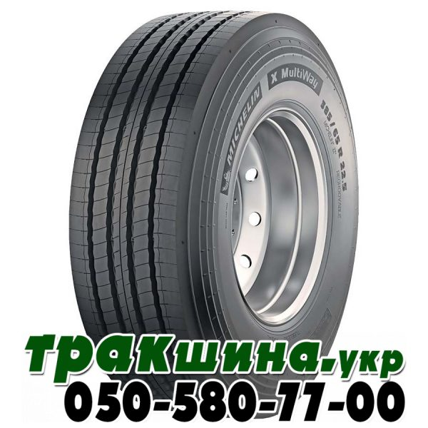 385/65 R22.5 Michelin X MultiWay HD XZE 164K рулевая бомба